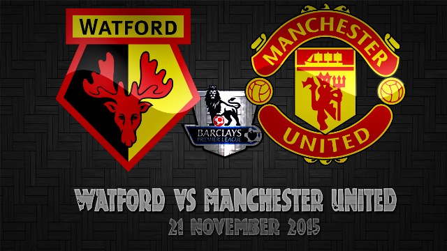 Prediksi Bola Watford vs Manchester United 21 November 2015