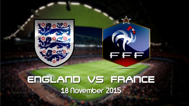 Prediksi Bola Inggris vs Prancis 18 November 2015
