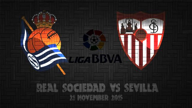 Prediksi Bola Real Sociedad vs Sevilla 21 November 2015