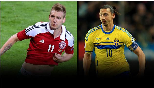 Prediksi Bola Swedia vs Denmark 15 November 2015