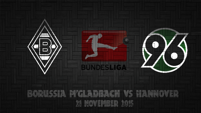 Prediksi Bola Borussia M'gladbach vs Hannover 96 21 November 2015