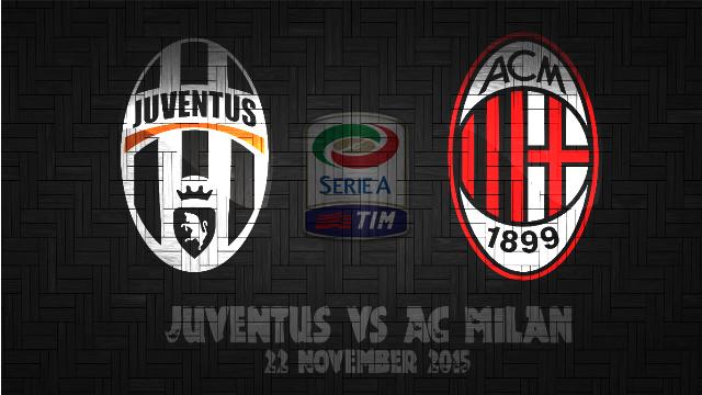 Prediksi Bola Juventus vs AC Milan 22 November 2015