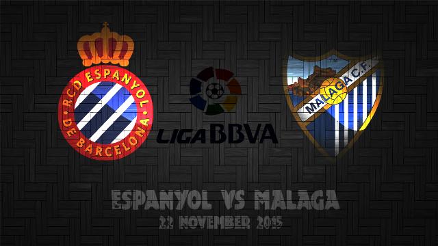 Prediksi Bola Espanyol vs Málaga 22 November 2015