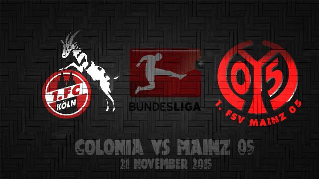 Prediksi Bola Koln vs Mainz 05 21 November 2015