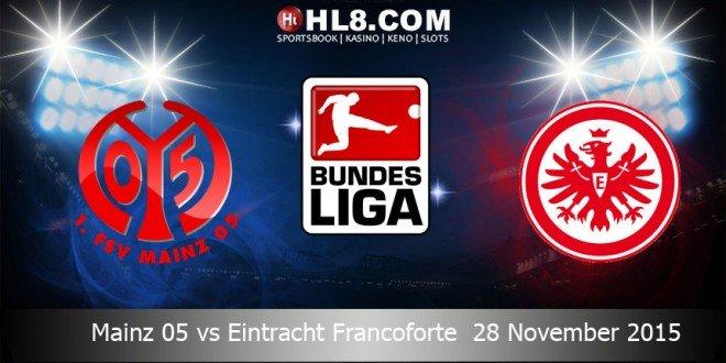 Prediksi Bola Mainz 05 vs Eintracht Frankfurt 28 November 2015
