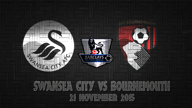 Prediksi Bola Swansea City vs Bournemouth 21 November 2015