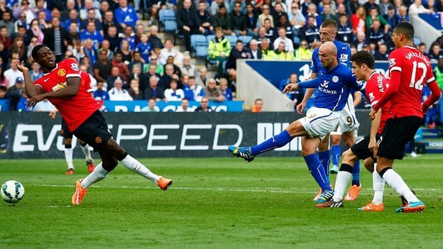 Prediksi Bola Leicester City vs Manchester United 29 November 2015