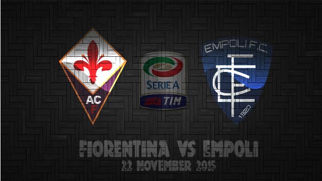 Prediksi Bola Fiorentina vs Empoli 22 November 2015