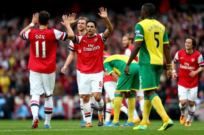 Prediksi Bola Norwich City vs Arsenal 29 November 2015