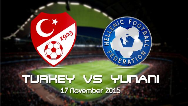 Prediksi Bola Turki vs Yunani 18 November 2015
