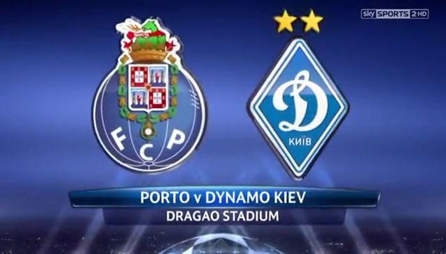 Prediksi Bola Porto vs Dynamo Kiev 25 November 2015