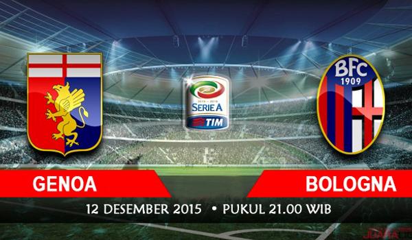 Prediksi Bola Genoa vs Bologna 12 Desember 2015
