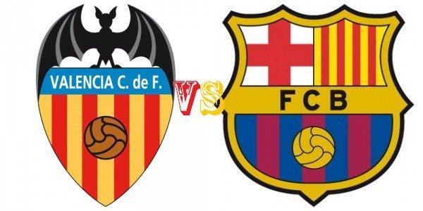 Prediksi Bola Valencia vs Barcelona 6 Desember 2015