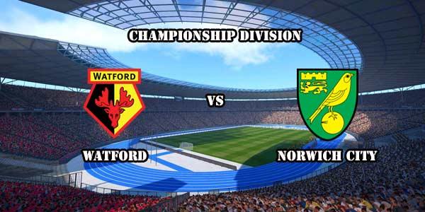 Prediksi Bola Watford vs Norwich City 5 Desember 2015