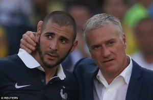 Karim Benzema Tidak Bergabung Bersama Timnas Perancis di Euro 2016
